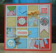Julies Japes - A Top Independent Stampin Up! Demonstrator in the UK: A Whirlwind Weekend! Valentines Frames, Paper Punch Art, Shadow Box Art, Candy Cards, Frame Crafts, Card Tags, Kids Cards, Cute Cards, Pattern Paper