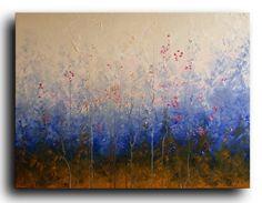 Extra large 30x40 art ORIGINAL Landscape painting by studiomosaic, $350.00