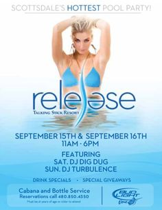 Talking Stick – Release SUMMER POOL PARTY 2012 – 09.15.2012