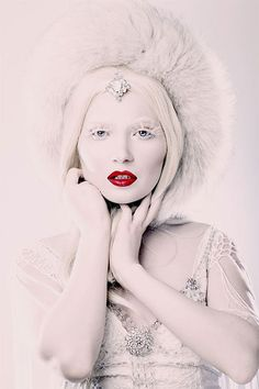 Best Snow Queen White Winter Make Up Ideas & Looks 2013/ 2014 | Girlshue
