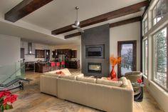 Great Room - contemporary - Living Room - Other Metro - Design Evolution Enterprises Inc