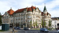 Vintage Architecture, Beautiful Architecture, Third Street, Black Eagle, Bucharest, Romania, Palace, Street View, Photo And Video