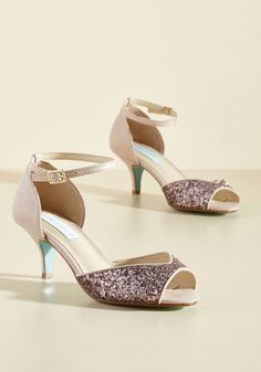 Special Occasion Shoes & Accessories - A Most Marvelous Midnight Peep Toe Heel