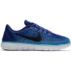 premium selection 13c0f 71174 Nike Mens Free Rn Distance Running Shoe 115 Deep Royal BlueBlackHeritage  Cyan     Details