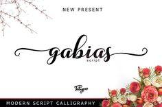 gabias script by fatype on @creativemarket