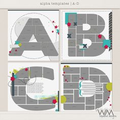 alpha temps – a-d by WM[squared] Designs