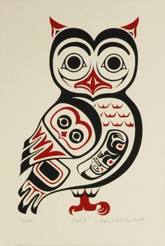 Native american owl tattoo - photo#27