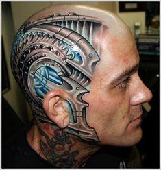 Biomechanical tattoo design (28)