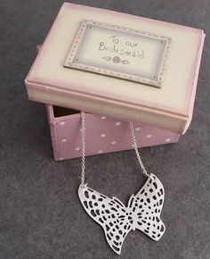 'to our bridesmaid' gift box by posh totty designs interiors | notonthehighstreet.com