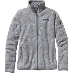 Patagonia Better Sweater Jacket ($139) ❤ liked on Polyvore featuring tops, sweaters, layered tops, zipper sweater, slimming tops, layered sweater and zip sweater