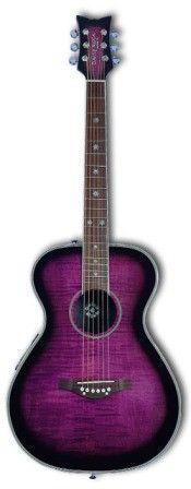 WOW - combining my two fav's - purple & guitar!!!
