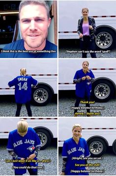 i love you felicity but your blue jays are just trying to take the crown from my sweet Royals and sorry but that is not happening