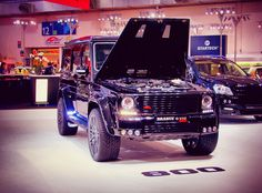 Mercedes G Class by Brabus.