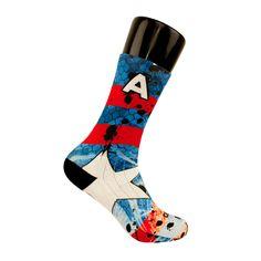 Capt America CES Custom Socks
