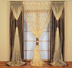 30 Gardinendekoration Beispiele - die Fenster kreativ verkleiden  -