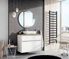 Eleganckie szafki łazienkowe Elita seria Lofty. ------------------------------ #elita #urzadzamy #budujemy #meblelazienkowe #furniture #sinkbath #inspiracjelazienkowe #modernbathroom #interiorstyle #design_interior_home #wnętrze #wnetrze #bathproducts #projektant Lofty, Toilet, Vanity, Bath Ideas, Mirror, Bathroom, Furniture, Blog, Home Decor