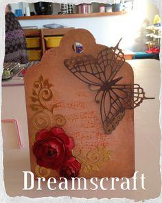 Con los #troqueles de @Sizzix la imaginación no tiene límites. #mariposa #tag…