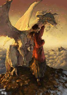 雰囲気が素晴らしく、ドラゴンと少女との絆が垣間見れます