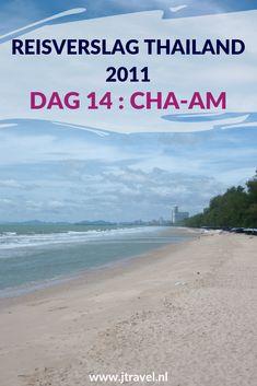 Dag 14 van mijn rondreis door Thailand breng ik door bij het zwembad van mijn hotel in Cha-Am en maak ik een strandwandeling. Alles over de veertiende dag van mijn reis door Thailand lees je hier. Lees je mee? #Thailand #strandwandeling #cha-am #reisverslag #jtravel #jtravelblog
