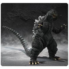 Godzilla: Godzilla SH Monsterarts [Action Figure] by Bandai Godzilla Figures, Godzilla Toys, Sh Monsterarts, Monster Costumes, Sculptures, Lion Sculpture, Toy People, Shadow Dragon, Classic Monsters