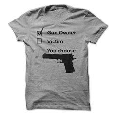 Gun Owner T-Shirts, Hoodies. SHOPPING NOW ==► https://www.sunfrog.com/Political/Gun-Owner.html?id=41382