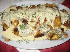 Meat Recipes, Chicken Recipes, Cooking Recipes, Slovakian Food, New Zealand Food And Drink, Middle East Food, Good Food, Yummy Food, Czech Recipes