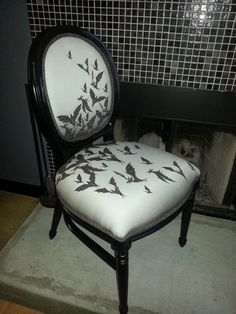 Night Hunter Chair by TheCalvarium on Etsy