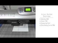Engraving Two Toned Metal with the Silver Bullet Professional - YouTube