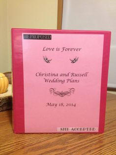 Wedding Planner PDF on Etsy, $20.00