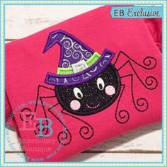 Too cute to spook! Comes in sizes for the  4x4, 5x7, and 9x9 hoops. Zip folder includes formats:  ART, DST, EXP, HUS, JEF, PES, SEW, VIP, VP3 and XXX