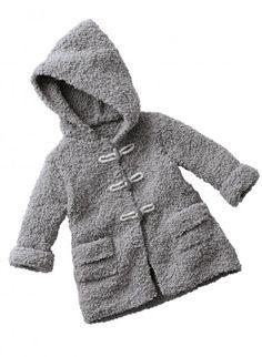 Knit childrens coat