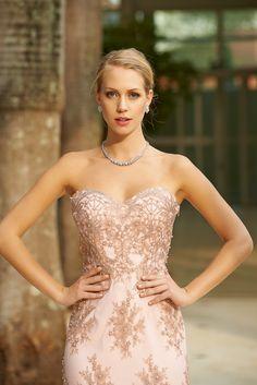 Vestido Longo . Long Dress . Vestido tomara que caia