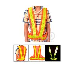 16 LED Light Safety Vest with Prismatic PVC Reflective Stripe for Traffic Safety and Construction Site Free Shipping