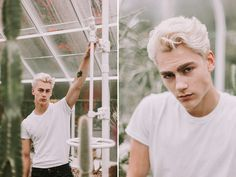 this past weekend sean swanson and i did a shoot in seattle's volunteer  park conservatory.i haven't photographed many male models (aside from eric  ambrose) so this was super fun and different! i think guys are my new  favorite subject to shoot.everything was shot with my canon 50mm f/1.4  le