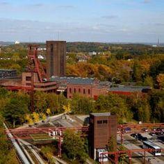 Allemagne Complexe industriel de la mine de charbon de Zollverein à Essen