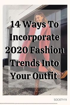 14 Ways To Incorporate 2020 Fashion Trends Into Your Outfits Street Look, Street Style Looks, Skirt And Sneakers, Chunky Shoes, 2020 Fashion Trends, Fashion Seasons, Long Time Ago, Skirt Suit, Get The Look