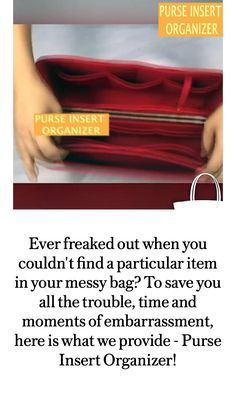 Daily Hacks, Freak Out, Organizers, Save Yourself, Organization, In This Moment, Purses, Bags, Getting Organized