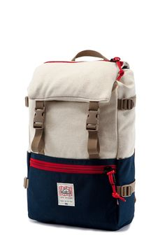 Topo X Woolrich Rover Pack Navy Natural