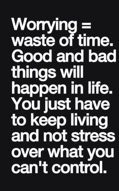 Easier said then done right now, but have to remember my wonderful family & friends are there!