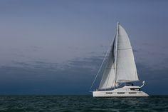 Fantastic 75' sailing catamaran Privilege Serie 7