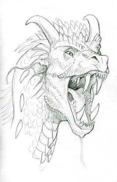 how to draw dragons - summer kid project                                                                                                                                                                                 More
