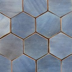 Tabarka Studio (in Arizona) have perfected handmade terracotta tiles. See Blogroll for a link to their site. – Decanted