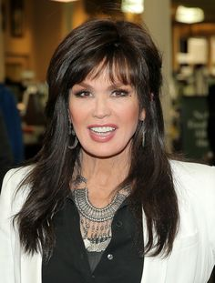 """Marie Osmond Photos - Marie Osmond poses for a photo at a book signing for her new book """"Music Is Medicine"""" at Barnes & Noble Union Square on April 2016 in New York City. - Marie Osmond Signs Copies of 'Music Is Medicine' Marie Osmond Hot, Donny Osmond, Beautiful Celebrities, Beautiful Women, Female Celebrities, Celebs, Medium Layered Hair, Hair Medium, Medium Hair Styles"""