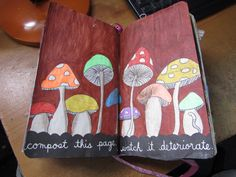 wreck this journal compost this page