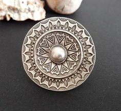Your place to buy and sell all things handmade Bohemian Rings, Bohemian Jewelry, Antique Silver, Antique Jewelry, Mandala Jewelry, Engraved Rings, Ethnic Jewelry, Adjustable Ring, Silver Plate
