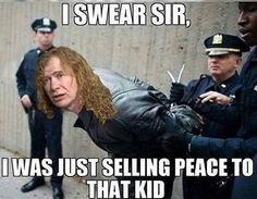 Heavy Metal Rock, Power Metal, Nu Metal, Black Metal, Music Humour, Music Memes, Metal Meme, Dave Mustaine, Extreme Metal