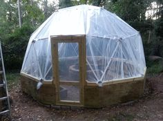 Nathan Byrd - Customer Review of Our Geodesic Dome Greenhouse Kit by Zip Tie Domes
