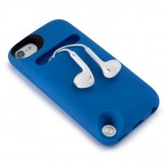 This flexible and lightweight case for iPod touch 5G comes with a handy mini-pouch in back, perfect for earbuds, loose change and more. It provides plenty of padded protection, and is great for kids or anyone looking for a rubbery iPod touch case with a little something extra.