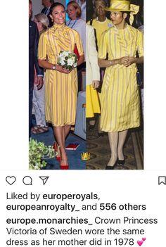 Princess Victoria Of Sweden, Princess Estelle, Princess Madeleine, Crown Princess Victoria, Princesa Victoria, Regine, Swedish Royalty, Estilo Real, Royal Dresses