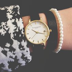 Our new Dandy Wrap Watch is the ultimate statement style - wear along or with bracelets for added effect <3 #oliviaburton